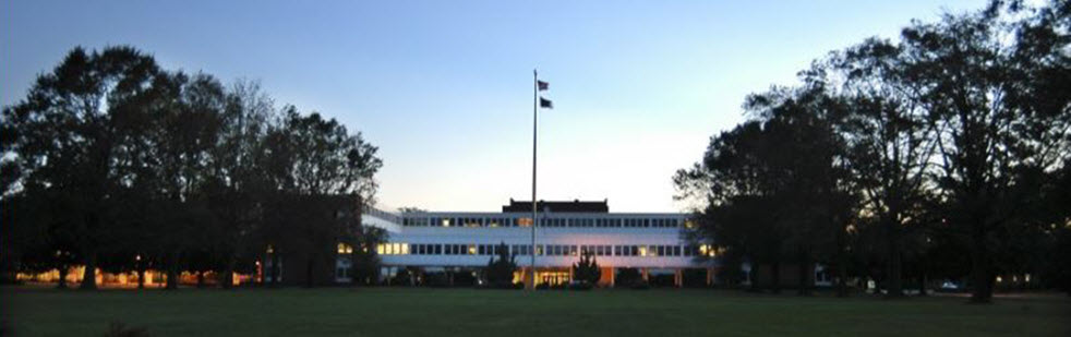 JFSC buildings in early morning