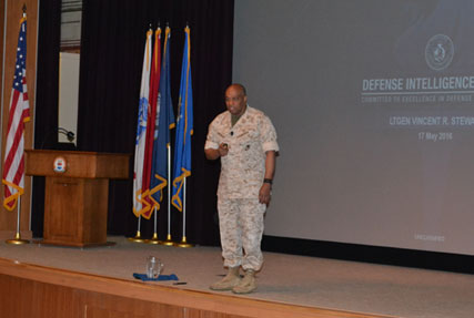 Lieutenant General Vincent R. Stewart, USMC, Director, Defense Intelligence Agency (DIA)
