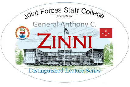 General Anthony C. Zinni Distinguished Lecture Series