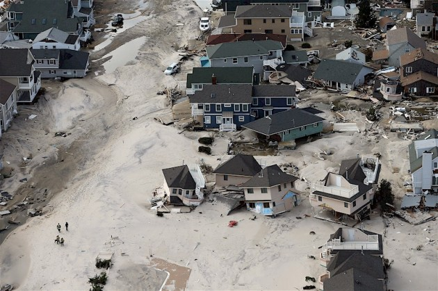 Hurricane Sandy-Home Destruction